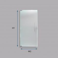 Custom Laminated Smart Glass Door (Frameless)