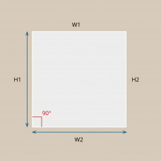 Custom Square / Rectangle Smart Film for Lamination