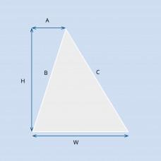 Custom Triangle Retrofit Smart Film