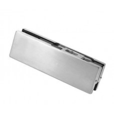 Bottom Patch Glass Door - Stainless Brushed