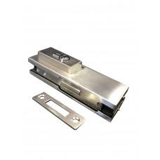 Stainless Top / Bottom Glass Door Patch Lock