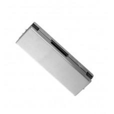 Center Striker Plate Glass Door Patch - Stainless