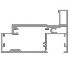 SGDF Single Glazed Universal Aluminium Partition Door Frame Milled for Magnetic Latch