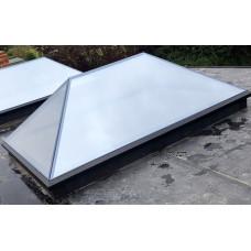 Frameless Smart Glass Roof Lantern