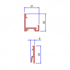 SG01, SG02 Two Part Base Track